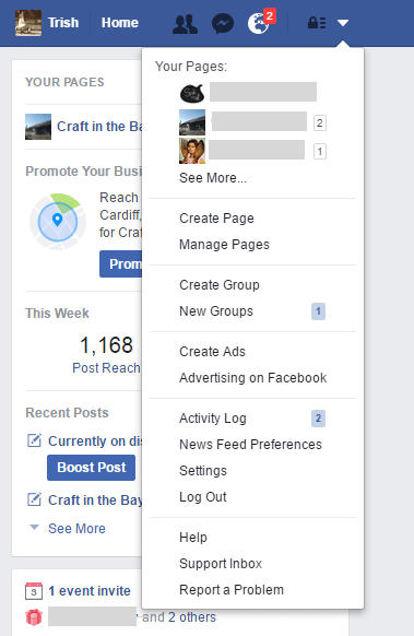 how to delete suggestions on facebook login
