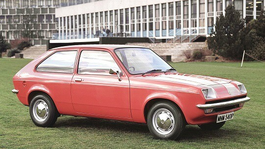 Vauxhall Chevette from the 70s