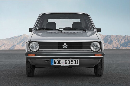 VW Golf Mk1 from the 70s