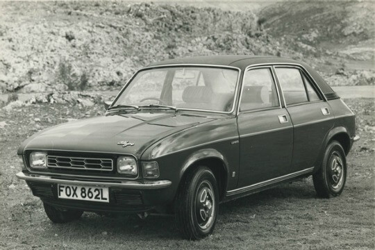 Austin Allegro from the 70s