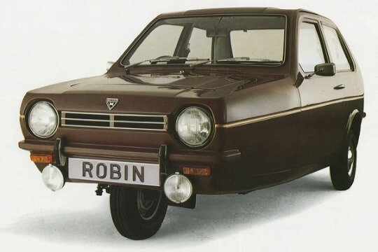 Reliant Robin from the 70s
