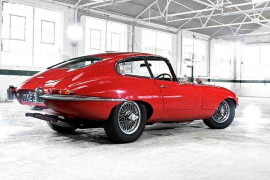 An e-type Jaguar