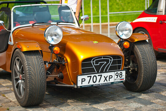 Bronze Caterham 7