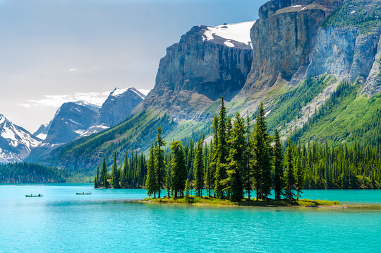 majestic mountain in Canada