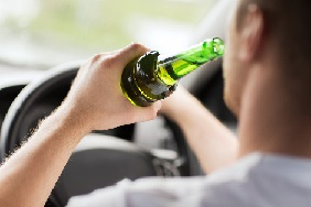 Man drink-driving