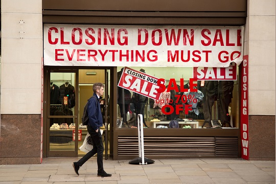 closing down shop