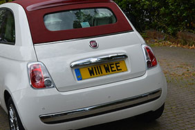 BRIAN - personalised plate - teaser