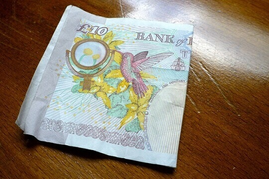 ten pound note