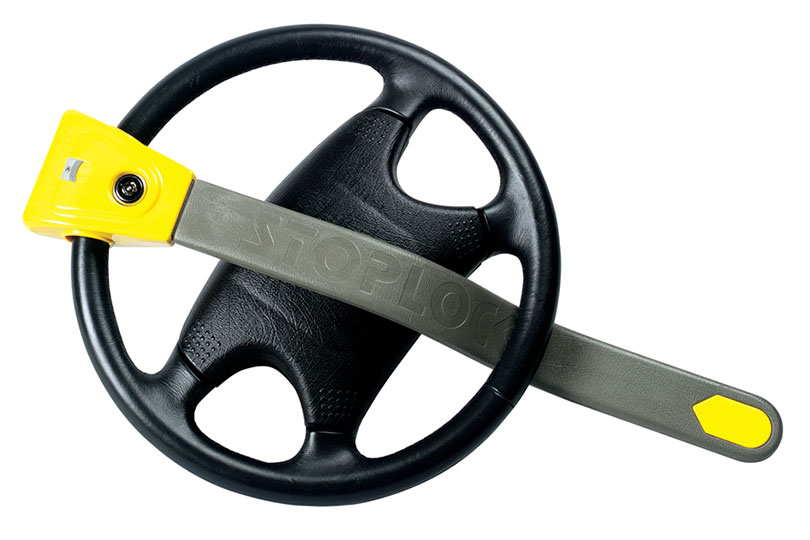 Stoplock steering wheel lock