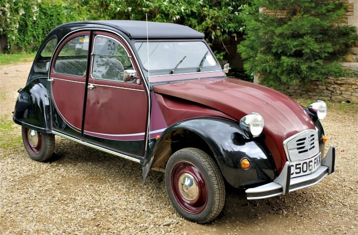 there may be a lot of affection in the world for the 2cv but the fact remains its still one of the ugliest creations ever seen