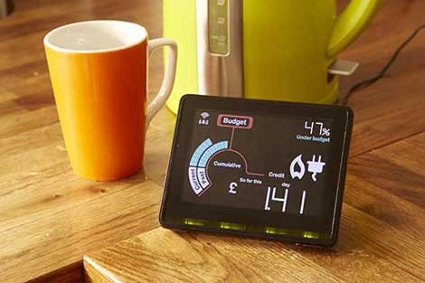 smart meter and coffee