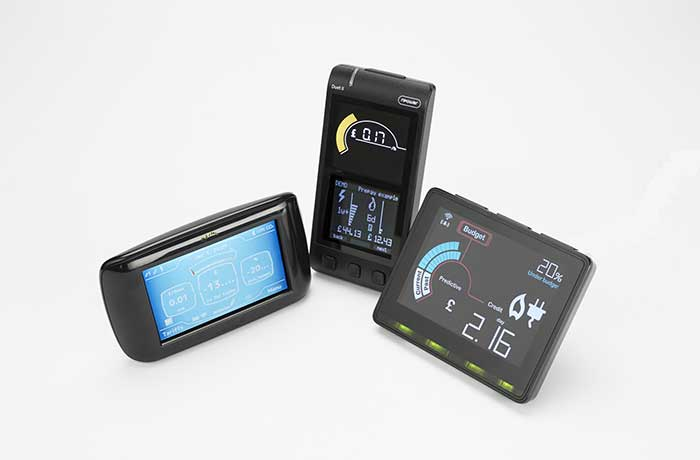 smart meter display screens