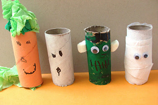 toilet roll decorations