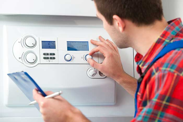 Home boiler care plan