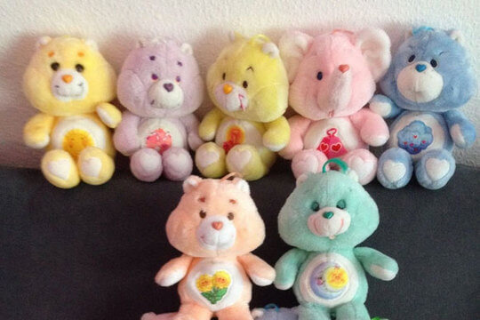 Care bear toy dolls