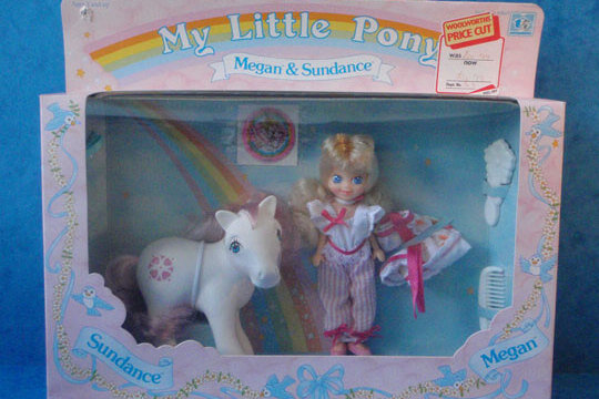 My little pony toy doll
