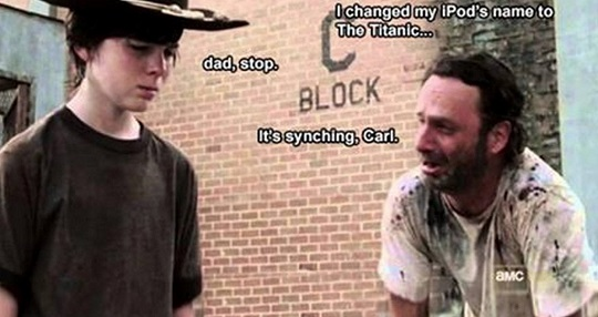 the walking dead dad joke