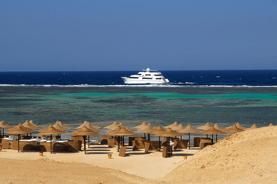 Egypt beach view